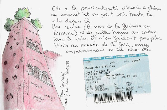 La tour Guinigi