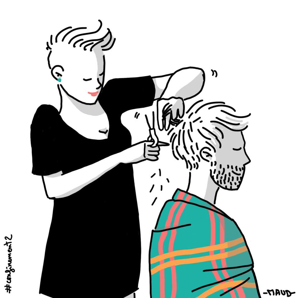 Coupe de cheveux Lucien