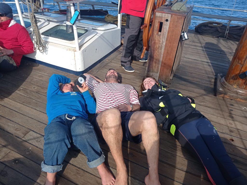 Noémie, Marc et Floriane